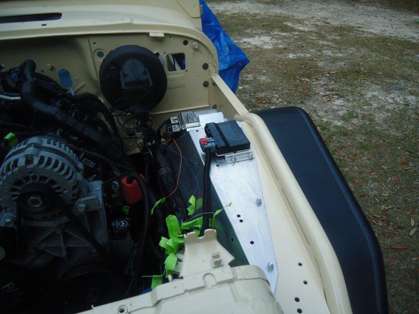 Mounting ECM for a 4 8 Swap - JeepForum com