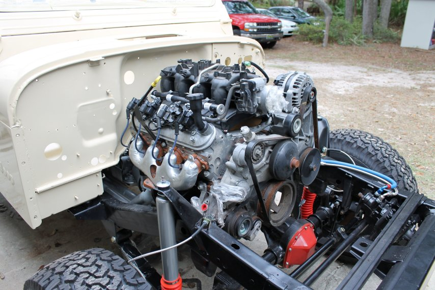 jeep tj 5 3 swap