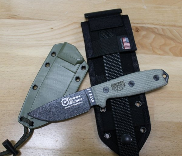 "TM ESEE-3"" Black"